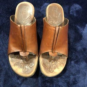 Born Brown Sandals